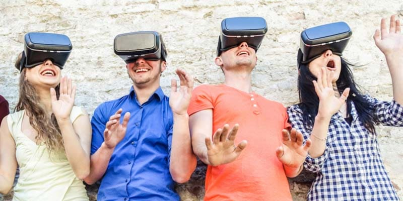 virtual reality tag