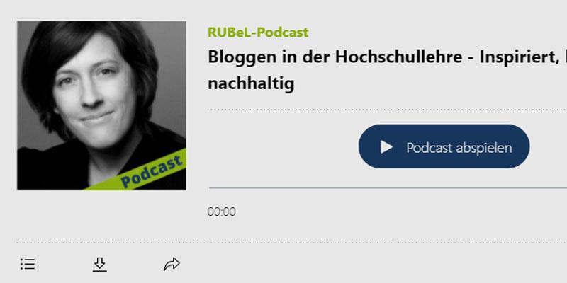 rubel podcast bloggen