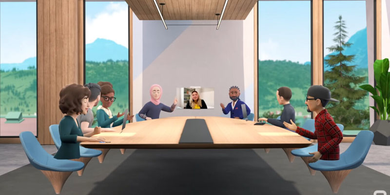 vr facebook meeting
